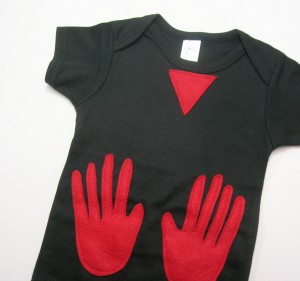 Manos The Hands Of Fate Baby Onesie makes a great Halloween costume for your baby