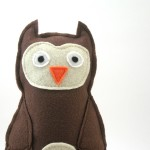 Owl Plush close up