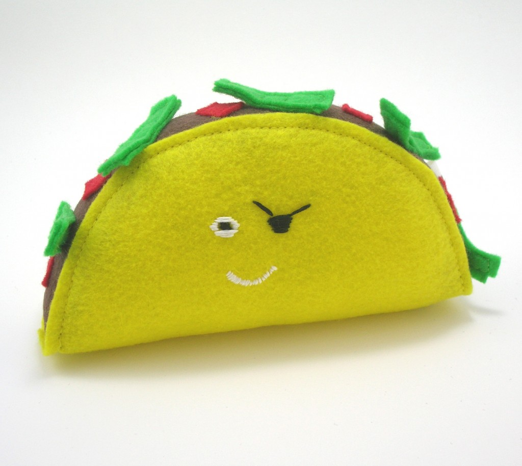 taco pirate plush from Panda With Cookie