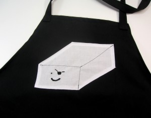 Tofu Pirate Apron. Makes a great vegetarian gift.