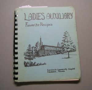 Ladies Auxiliary Cookbook