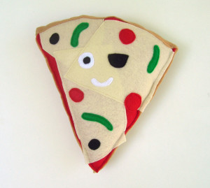 pizza plush, llewellyn holiday market