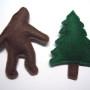 sasquatch and tree magnets