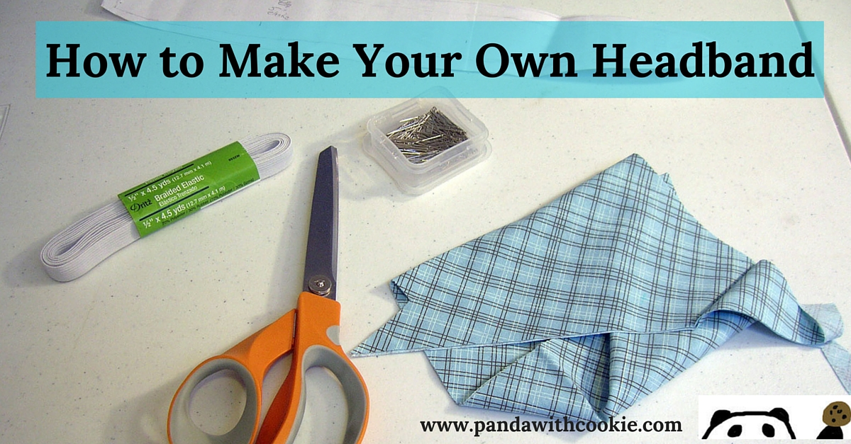 how to make your own headband