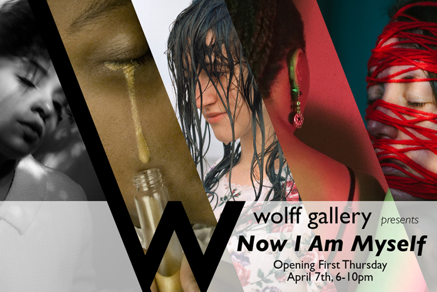 Wolff Gallery exhibition card