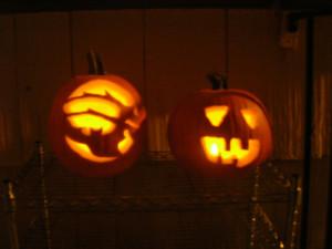 Happy Halloween! Jack o lanterns