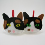 Calico Cat holiday ornament