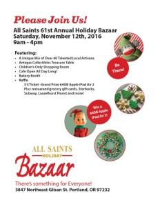 All Saints Holiday Bazaar